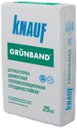 Кнауф Грюнбанд штукатурка цементная теплоизоляционная трещиностойкая