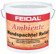 Feidal Novatic Ambiente Wandspachtel Relief моделирующая рельефная акриловая шпатлевка
