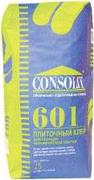 Консолит 601 плиточный клей для укладки керамической плитки