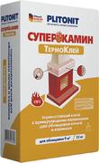 Плитонит Суперкамин Термоклей (ВТ) термостойкий клей с армирующими волокнами