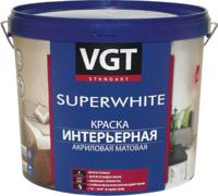 ВГТ ВД-АК-2180 Superwhite краска интерьерная акриловая матовая для стен влагостойкая