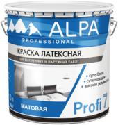 Alpa Profi 7 краска латексная супермоющаяся супербелая