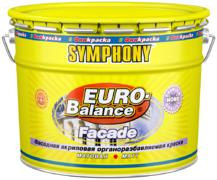 Финкраска Симфония Euro-Balance Facade Nord фасадная акриловая органоразбавляемая краска щелочестойкая