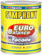 Финкраска Симфония Euro-Balance Facade Siloxan фасадная силокcанмодифицированная краска водоразбавляемая