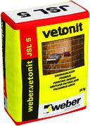 Вебер Ветонит JSL 5 цветной раствор для расшивки швов кирпичных конструкций