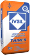 Ивсил Thiner цементная штукатурка мелкофракционная легкая