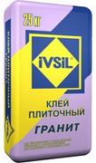 Ивсил Granit плиточный клей экстрасильный