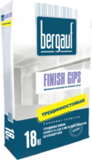 Bergauf Finish Gips финишная шпаклевка на гипсовой основе трещиностойкая