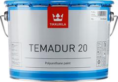 Тиккурила Темадур 20 двухкомпонентная полуматовая полиуретановая краска
