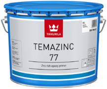 Тиккурила Темацинк 77 двухкомпонентная эпоксидная цинкнаполненная краска