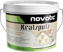 Feidal Novatic Kratzputz Silikon декоративная силиконовая штукатурка с зернистым эффектом