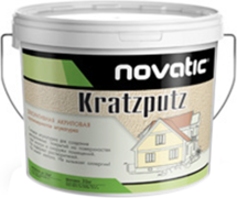 Feidal Novatic Kratzputz декоративная акриловая крупнозернистая штукатурка