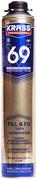 Krass Professional V69 монтажная пена с увеличенным выходом