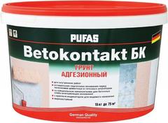 Пуфас Betokontakt БК грунт адгезионный для внутренних работ