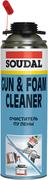 Soudal Gun & Foam Cleaner очиститель полиуретановой (ПУ) монтажной пены