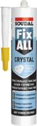 Soudal Fix All Crystal кристально прозрачный клей-герметик