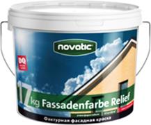 Feidal Novatic Silikon Fassadenfarbe Relief фактурная силиконовая краска по минеральным основаниям
