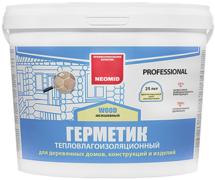 Неомид Теплый Дом Wood Professional герметик тепловлагоизоляционный строительный