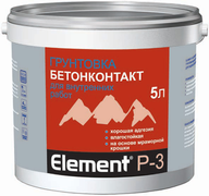 Alpa Бетон-контакт Element P-3 грунтовка влагостойкая для внутренних работ