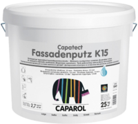 Caparol Capatect Fassadenputz K15 дисперсионная структурная штукатурка