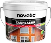 Feidal Novatic Zaunlasur лазурь по дереву для наружных работ