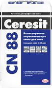 Ceresit CN 88 выравнивающая смесь высокопрочная