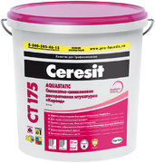 Ceresit CT 175 Короед декоративная штукатурка силикатно-силиконовая