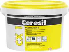 Ceresit CX 1 Гидропломба блиц-цемент для остановки водопритоков