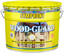 Финкраска Симфония Wood-Guard кроющий водоразбавляемый антисептик
