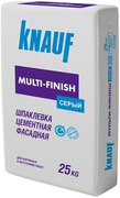 Кнауф Мульти-Финиш шпаклевка цементная фасадная