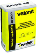 Вебер Ветонит JB 600/3 безусадочный раствор