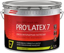 Parade Professional E7 Pro'latex 7 краска интерьерная латексная