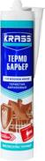Krass Термо Барьер герметик для деревянных домов и срубов высокоэластичный
