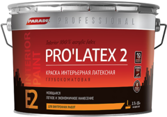Parade Professional E2 Pro'latex 2 краска интерьерная латексная