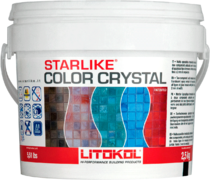 Литокол Starlike Color Crystal эпоксидная затирочная смесь
