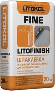 Литокол Litofinish Fine шпаклевка полимерная финишная белая