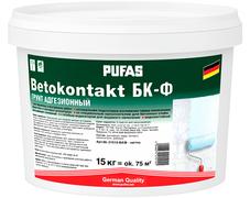 Пуфас Betokontakt БК-Ф грунт адгезионный для наружных и внутренних работ