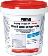 Пуфас Styroporkleber Белый клей для плит из стиропора