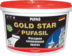 Пуфас Gold Star Pufasil фасадная силиконовая краска