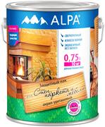 Alpa для Стен, Паркета и Мебели защитный лак акрил-уретановый сверхпрочный износостойкий