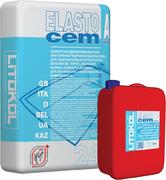 Литокол Elastocem цементная эластичная гидроизоляционная смесь