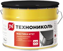 Технониколь №57 мастика битумно-полимерная защитная алюминиевая