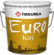 Тиккурила Евро Кири лак для внутренних работ паркетный алкидно-уретановый