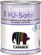 Caparol Capacryl PU-Satin устойчивый к царапинам и ударам полиуретановый акриловый лак