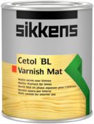 Sikkens Wood Coatings Cetol BL Varnish Mat износостойкий полиуретановый лак для защиты древесины