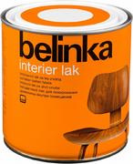 Белинка Interier Lak бесцветный лак для лакирования древесины внутри помещений