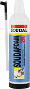 Soudal Soudafoam 2K двухкомпонентная монтажная пена