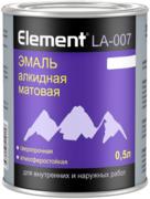 Alpa Element LA-007 эмаль алкидная матовая сверхпрочная атмосферостойкая