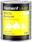 Alpa Element LA-020 эмаль алкидная полуматовая сверхпрочная атмосферостойкая