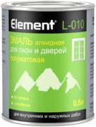 Alpa Alpa Element L-010 эмаль алкидная для окон и дверей